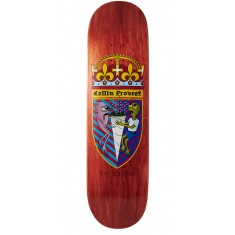 Toy Machine Provost Cone Of Arms Skateboard Deck - Orange - 8.50""