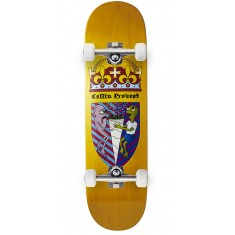 Toy Machine Provost Cone Of Arms Skateboard Complete - Yellow - 8.50""