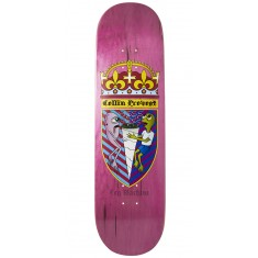 Toy Machine Provost Cone Of Arms Skateboard Deck - Pink - 8.50""