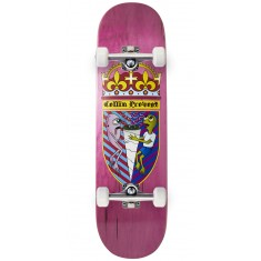 Toy Machine Provost Cone Of Arms Skateboard Complete - Pink - 8.50""