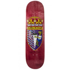 Toy Machine Provost Cone Of Arms Skateboard Deck - Red - 8.50""