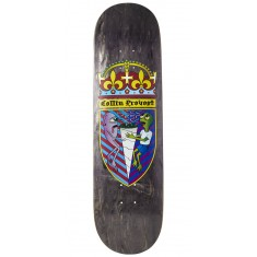 Toy Machine Provost Cone Of Arms Skateboard Deck - Black - 8.50""