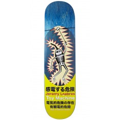 Toy Machine Leabres Shock Skateboard Deck - Blue - 8.125""