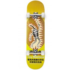 Toy Machine Leabres Shock Skateboard Complete - Yellow - 8.125""