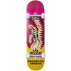Toy Machine Leabres Shock Skateboard Complete - Pink - 8.125""