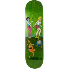 Toy Machine Romero Pets Skateboard Deck - Green - 8.375""