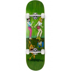 Toy Machine Romero Pets Skateboard Complete - Green - 8.375""
