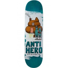 "Anti-Hero Pfanner It's All Shit Skateboard Deck - 8.25"" - Teal"