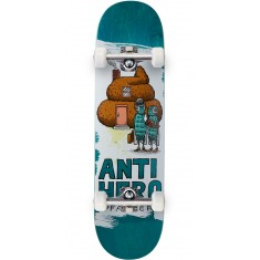 "Anti-Hero Pfanner It's All Shit Skateboard Complete - 8.25"" - Teal"