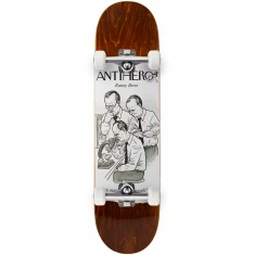 "Anti-Hero Beres Scientific Achievements Skateboard Complete - 8.06"" - Brown"