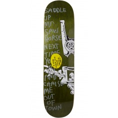 "Krooked Sebo Horsepower Skateboard Deck - 8.06"" - Forest"