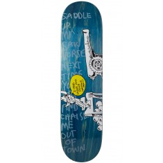 "Krooked Sebo Horsepower Skateboard Deck - 8.06"" - Blue"