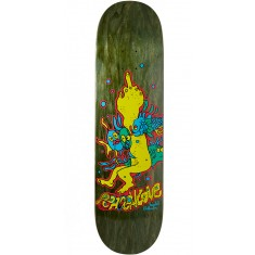 "Krooked Sebo Fishlove Skateboard Deck - 8.25"" - Forest"