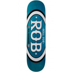 "Real Roll For Rob Skateboard Deck - 8.25"" - Teal"