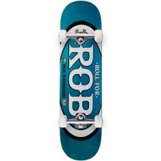 "Real Roll For Rob Skateboard Complete - 8.25"" - Teal"