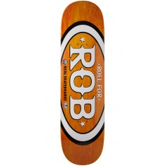 "Real Roll For Rob Skateboard Deck - 8.25"" - Orange"