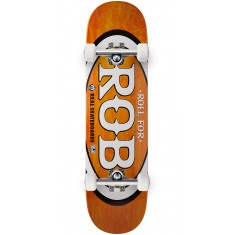 "Real Roll For Rob Skateboard Complete - 8.06"" - Orange"