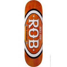 "Real Roll For Rob Skateboard Deck - 8.50"" - Orange"