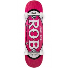 "Real Roll For Rob Skateboard Complete - 8.50"" - Pink"