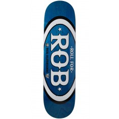 "Real Roll For Rob Skateboard Deck - 8.50"" - Blue"