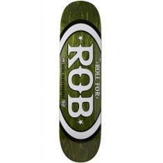 "Real Roll For Rob Skateboard Deck - 8.06"" - Forest"