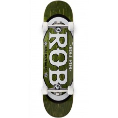 "Real Roll For Rob Skateboard Complete - 8.06"" - Forest"
