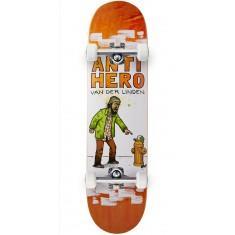 "Anti-Hero Daan It's All Shit Skateboard Complete - 8.06"" - Orange"