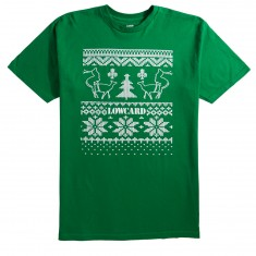 Lowcard Ugly Sweater Contest T-Shirt - Green