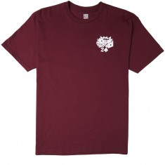 Lowcard Player's Club By Gorgeous George T-Shirt - Maroon