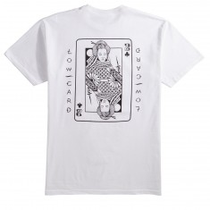 Lowcard Mudgett Card By Jess Mudgett T-Shirt - White