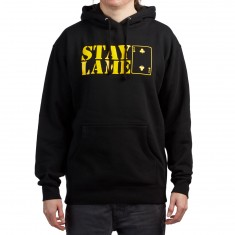 Lowcard Stay Lame Hoodie - Black