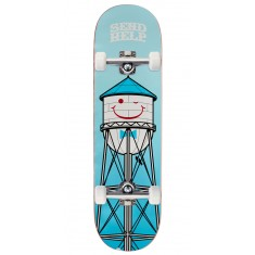 Send Help Smiley Skateboard Complete - 8.50""