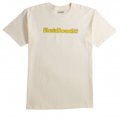 Transworld Skateboarder Mag T-Shirt - Tan