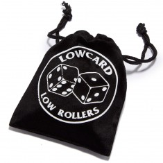 Lowcard Low Rollers Set Of 5 Dice - Black