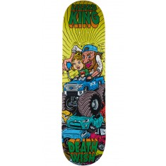 Deathwish Monster Truck Skateboard Deck - Lizard King - 8.25
