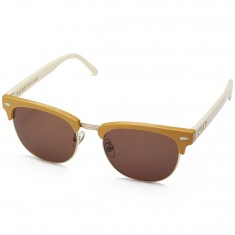 Crap The Nudie Club Sunglasses - Gloss Camel/Cream Stems