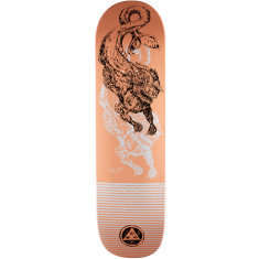 Welcome Cetus on Big Bunyip Skateboard Deck - Coral - 8.5