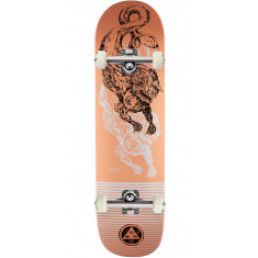 Welcome Cetus on Big Bunyip Skateboard Complete - Coral - 8.5