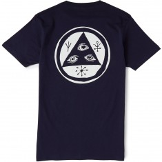 Welcome Talisman T-Shirt - Navy/White