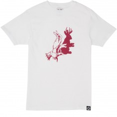 Welcome Shadow Play T-Shirt - White