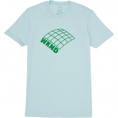 WKND On A Plain T-Shirt - Powder Blue