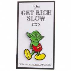 Get Rich Slow Jedi Mouse Pin