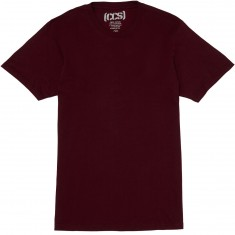 CCS Staple T-Shirt - Burgundy