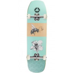 Welcome Adaptation on Banshee Skateboard Complete - Teal - 8.6