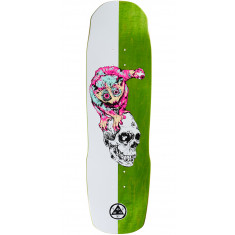 Welcome Loris Loughlin on Totem Skateboard Deck - White - 8.8