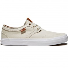 State Bishop Shoes - Cream/White Canvas
