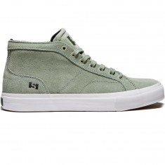 State Salem Shoes - Mint/White Suede