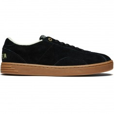 Proper Conquista Shoes - Black/Gum