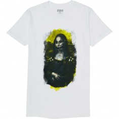Zero Vandalism Premium T-Shirt - White/Black/Yellow