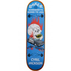 Baker Going To Jail Skateboard Deck - Cyril Jackson - 8.125
